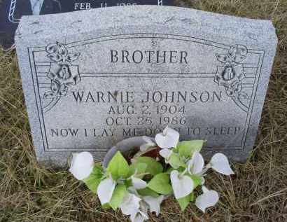 JOHNSON, WARNIE - Ross County, Ohio | WARNIE JOHNSON - Ohio Gravestone Photos