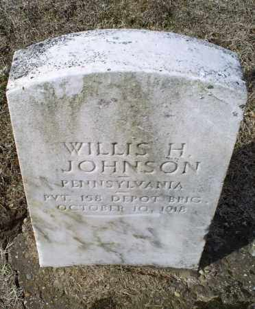 JOHNSON, WILLIS H. - Ross County, Ohio | WILLIS H. JOHNSON - Ohio Gravestone Photos
