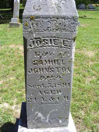 JOHNSTON, JOSIE E. - Ross County, Ohio | JOSIE E. JOHNSTON - Ohio Gravestone Photos