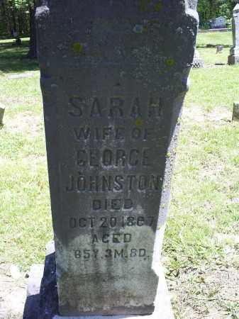 JOHNSTON, SARAH - Ross County, Ohio | SARAH JOHNSTON - Ohio Gravestone Photos