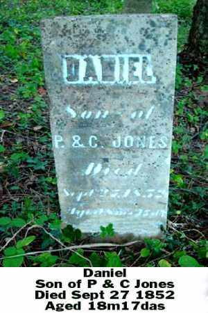 JONES, DANIEL - Ross County, Ohio | DANIEL JONES - Ohio Gravestone Photos
