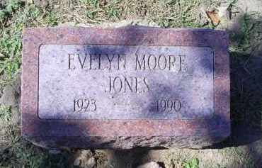 MOORE JONES, EVELYN - Ross County, Ohio | EVELYN MOORE JONES - Ohio Gravestone Photos