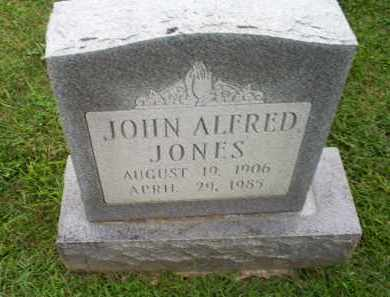 JONES, JOHN ALFRED - Ross County, Ohio | JOHN ALFRED JONES - Ohio Gravestone Photos