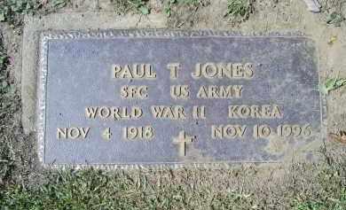JONES, PAUL T. - Ross County, Ohio | PAUL T. JONES - Ohio Gravestone Photos