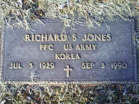 JONES, RICHARD S. - Ross County, Ohio | RICHARD S. JONES - Ohio Gravestone Photos