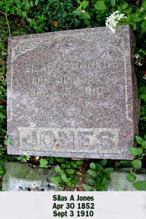 JONES, SILAS A - Ross County, Ohio | SILAS A JONES - Ohio Gravestone Photos