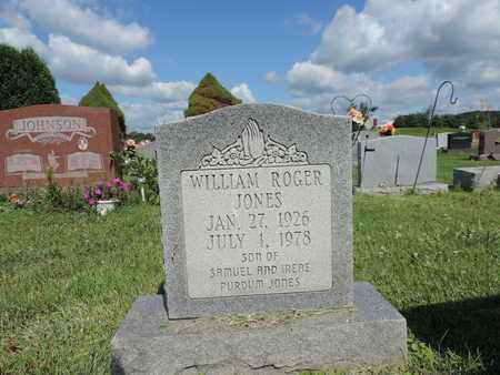 JONES, WILLIAM ROGER - Ross County, Ohio | WILLIAM ROGER JONES - Ohio Gravestone Photos
