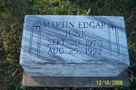 JUNK, MARTIN EDGAR - Ross County, Ohio | MARTIN EDGAR JUNK - Ohio Gravestone Photos