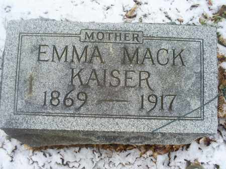 KAISER, EMMA - Ross County, Ohio | EMMA KAISER - Ohio Gravestone Photos
