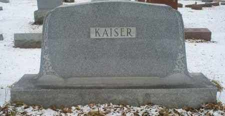 KAISER, MONUMENT - Ross County, Ohio | MONUMENT KAISER - Ohio Gravestone Photos