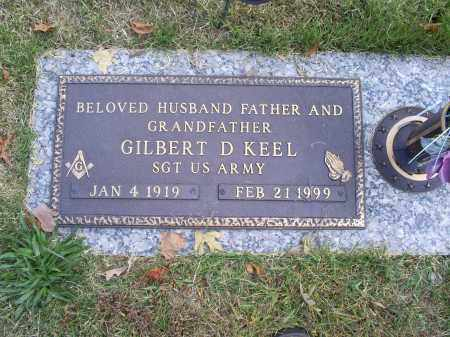 KEEL, GILBERT D. - Ross County, Ohio | GILBERT D. KEEL - Ohio Gravestone Photos