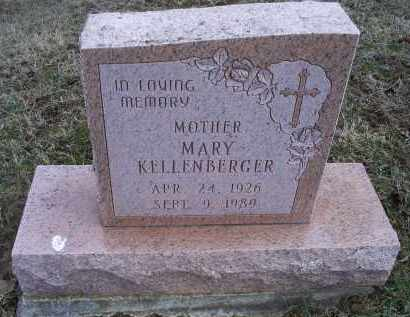 KELLENBERGER, MARY - Ross County, Ohio | MARY KELLENBERGER - Ohio Gravestone Photos