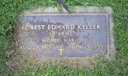 KELLER, FOREST EDWARD - Ross County, Ohio | FOREST EDWARD KELLER - Ohio Gravestone Photos