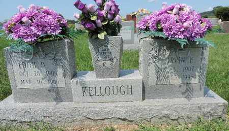 KELLOUGH, EDITH D - Ross County, Ohio | EDITH D KELLOUGH - Ohio Gravestone Photos