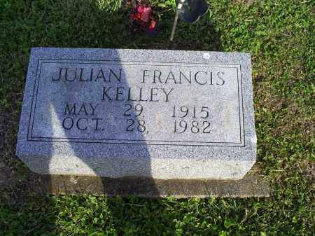 KELLY, JULIAN FRANCIS - Ross County, Ohio | JULIAN FRANCIS KELLY - Ohio Gravestone Photos