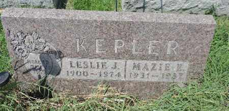 KEPLER, LESLIE J. - Ross County, Ohio | LESLIE J. KEPLER - Ohio Gravestone Photos