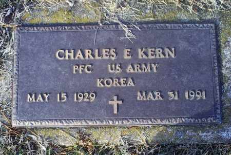KERN, CHARLES E. - Ross County, Ohio | CHARLES E. KERN - Ohio Gravestone Photos