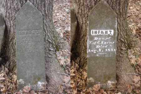 KERNS, INFANT - Ross County, Ohio | INFANT KERNS - Ohio Gravestone Photos
