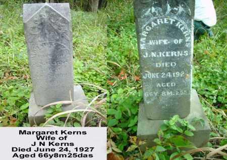 KERNS, MARGARET - Ross County, Ohio | MARGARET KERNS - Ohio Gravestone Photos