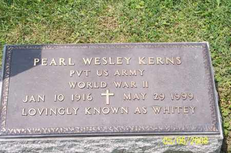 KERNS, PEARL WESLEY - Ross County, Ohio | PEARL WESLEY KERNS - Ohio Gravestone Photos