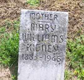 WILLIAMS KIDNEY, MARY - Ross County, Ohio | MARY WILLIAMS KIDNEY - Ohio Gravestone Photos