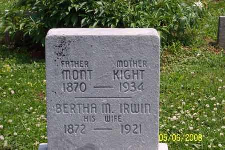 KIGHT, BERTHA M. - Ross County, Ohio | BERTHA M. KIGHT - Ohio Gravestone Photos