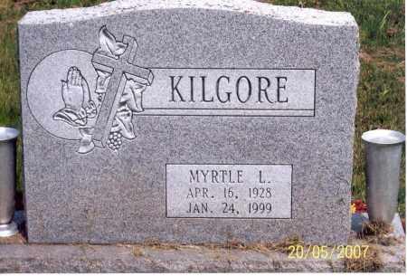 KILGORE, MYRTLE L. - Ross County, Ohio | MYRTLE L. KILGORE - Ohio Gravestone Photos