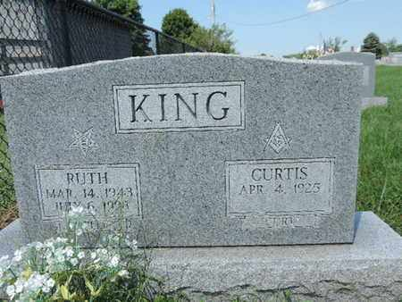 KING, CURTIS - Ross County, Ohio | CURTIS KING - Ohio Gravestone Photos