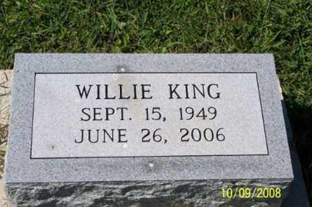 KING, WILLIE - Ross County, Ohio | WILLIE KING - Ohio Gravestone Photos