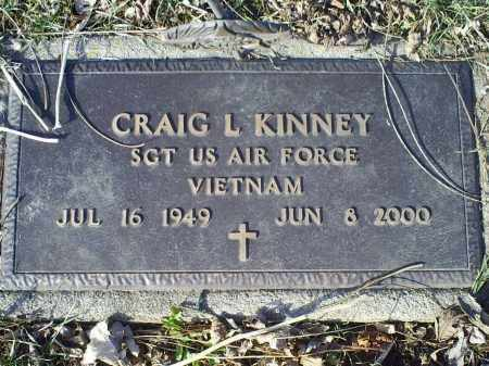 KINNEY, CRAIG L. - Ross County, Ohio | CRAIG L. KINNEY - Ohio Gravestone Photos