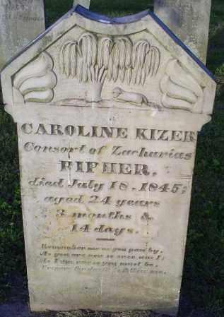 KIZER, CAROLINE - Ross County, Ohio | CAROLINE KIZER - Ohio Gravestone Photos