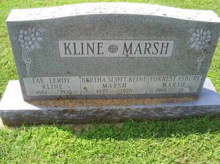 KLINE, BERTHA - Ross County, Ohio | BERTHA KLINE - Ohio Gravestone Photos
