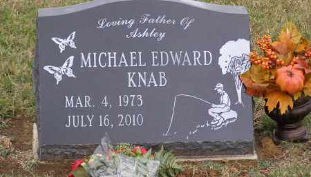 KNAB, MICHAEL EDWARD - Ross County, Ohio | MICHAEL EDWARD KNAB - Ohio Gravestone Photos