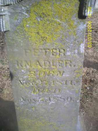 KNADLER, PETER - Ross County, Ohio | PETER KNADLER - Ohio Gravestone Photos