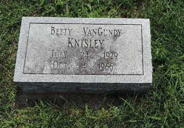 KNISLEY, BETTY - Ross County, Ohio | BETTY KNISLEY - Ohio Gravestone Photos