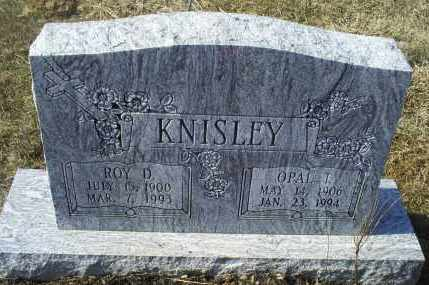 KNISLEY, OPAL T. - Ross County, Ohio | OPAL T. KNISLEY - Ohio Gravestone Photos