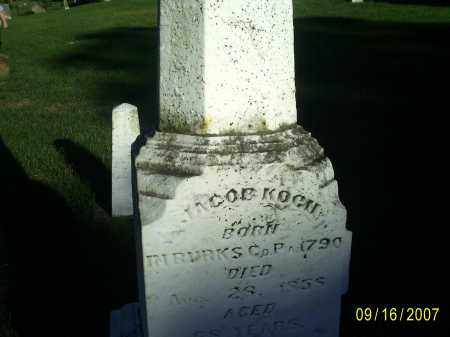 KOCH, JACOB - Ross County, Ohio | JACOB KOCH - Ohio Gravestone Photos