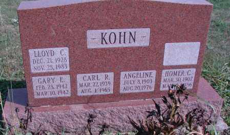 KOHN, LLOYD C - Ross County, Ohio | LLOYD C KOHN - Ohio Gravestone Photos