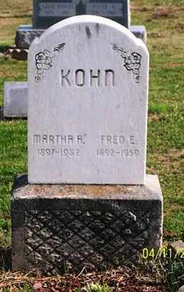 KOHN, FRED E., - Ross County, Ohio | FRED E., KOHN - Ohio Gravestone Photos