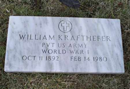 KRAFTHEFER, WILLIAM - Ross County, Ohio | WILLIAM KRAFTHEFER - Ohio Gravestone Photos