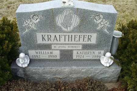 KRAFTHEFER, KATHRYN M. - Ross County, Ohio | KATHRYN M. KRAFTHEFER - Ohio Gravestone Photos