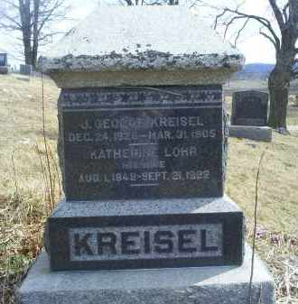 KREISEL, KATHERINE - Ross County, Ohio | KATHERINE KREISEL - Ohio Gravestone Photos