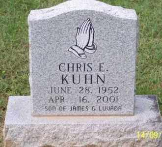 KUHN, CHRIS E. - Ross County, Ohio | CHRIS E. KUHN - Ohio Gravestone Photos