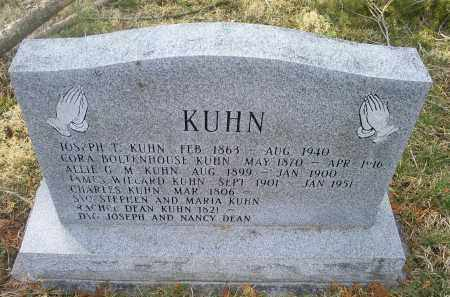 BOLTENHOUSE KUHN, CORA - Ross County, Ohio | CORA BOLTENHOUSE KUHN - Ohio Gravestone Photos