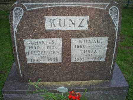KUNZ, WILLIAM - Ross County, Ohio | WILLIAM KUNZ - Ohio Gravestone Photos