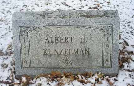 KUNZELMAN, ALBERT H. - Ross County, Ohio | ALBERT H. KUNZELMAN - Ohio Gravestone Photos