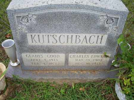GOOD KUTSCHBACH, GLADYS - Ross County, Ohio | GLADYS GOOD KUTSCHBACH - Ohio Gravestone Photos