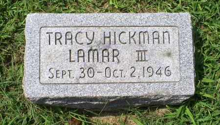 LAMAR, TRACY HICKMAN III - Ross County, Ohio | TRACY HICKMAN III LAMAR - Ohio Gravestone Photos