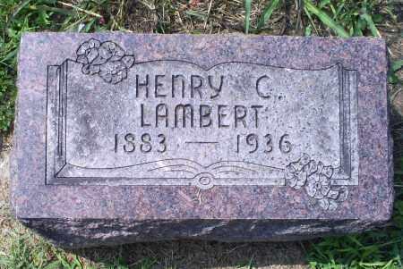 LAMBERT, HENRY C. - Ross County, Ohio | HENRY C. LAMBERT - Ohio Gravestone Photos