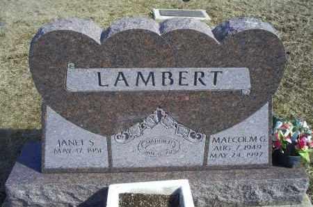 LAMBERT, MALCOLM G. - Ross County, Ohio | MALCOLM G. LAMBERT - Ohio Gravestone Photos